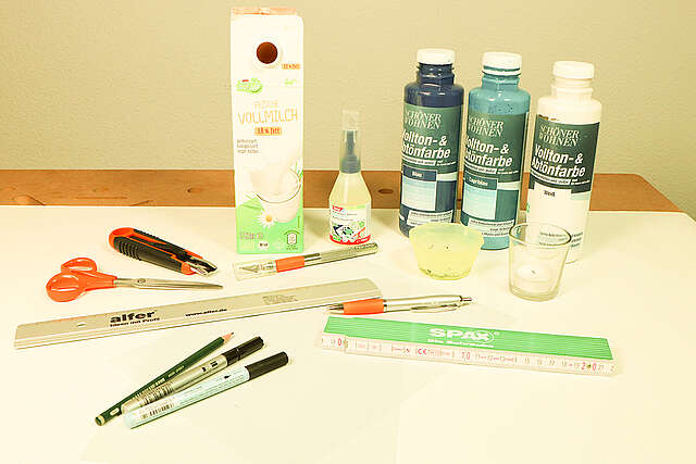 Upcycling-Laternen aus Milchkartons