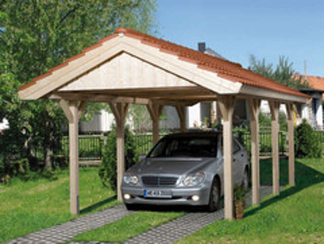 carport offener stellplatz f r das auto. Black Bedroom Furniture Sets. Home Design Ideas