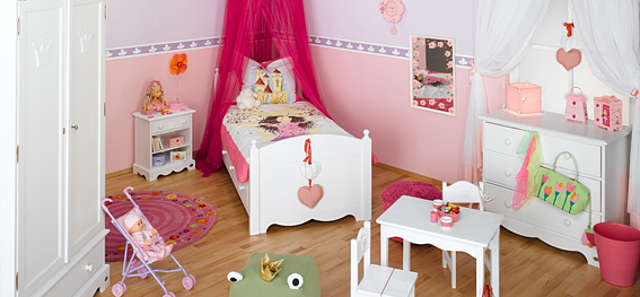kinderzimmer f r m dchen gestalten. Black Bedroom Furniture Sets. Home Design Ideas