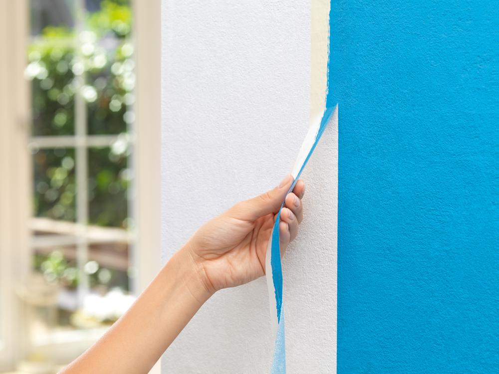 Saubere farbkanten beim streichen diy academy for Wand 2 farbig streichen