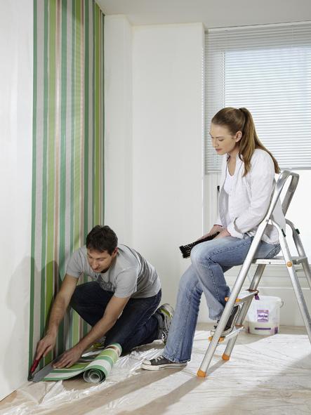 decke richtig tapezieren just another wordpress. Black Bedroom Furniture Sets. Home Design Ideas