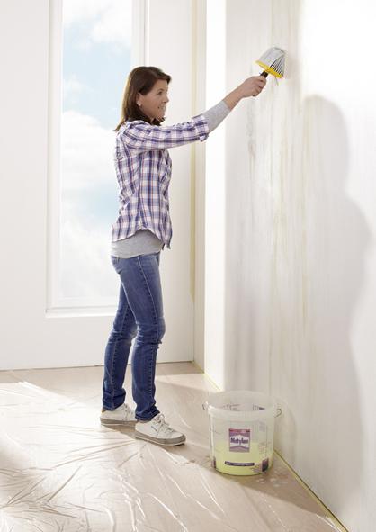 Vliestapeten Decke Tapezieren : Alte Tapeten m?ssen runter Penible Untergrundvorbereitung Geeigneten