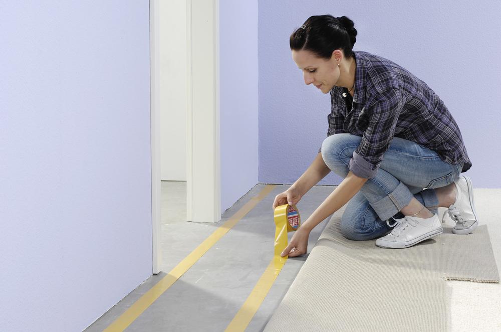 Teppich fixieren for Boden renovieren