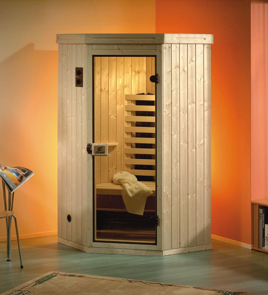 in der infrarotkabine schwitzen. Black Bedroom Furniture Sets. Home Design Ideas