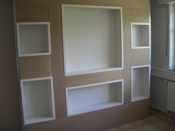mehr platz durch nischen. Black Bedroom Furniture Sets. Home Design Ideas