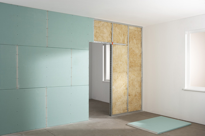 r ume teilen trennw nde aus gipskarton. Black Bedroom Furniture Sets. Home Design Ideas