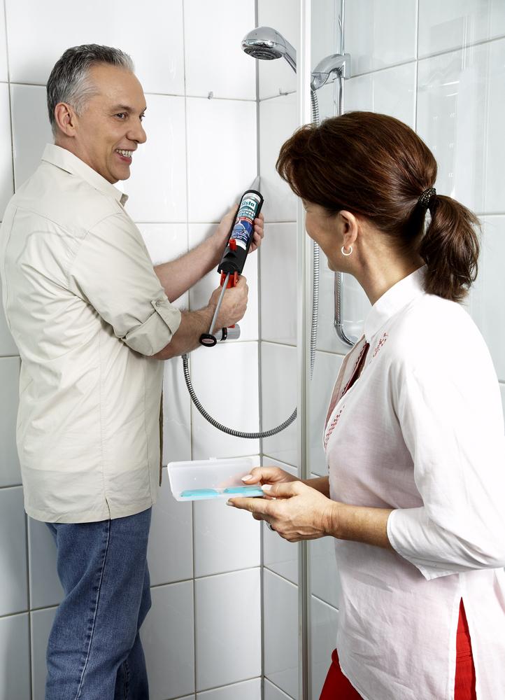schimmel beseitigen - Dusche Renovieren Schimmel
