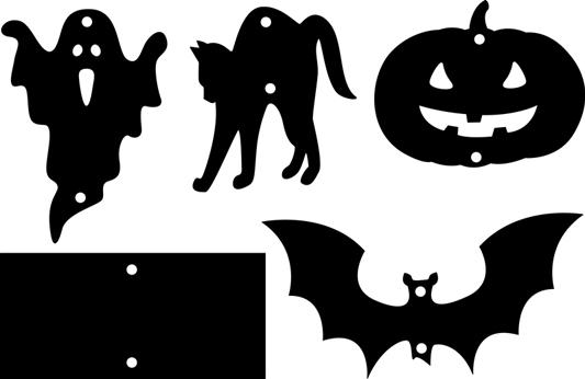 halloween mobile basteln. Black Bedroom Furniture Sets. Home Design Ideas