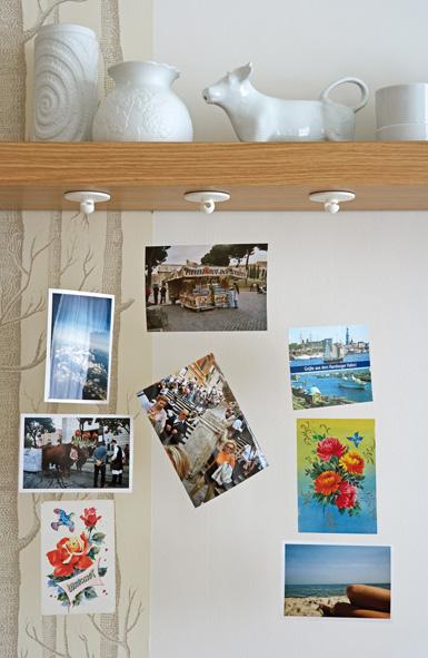 urlaubserinnerungen an der wand. Black Bedroom Furniture Sets. Home Design Ideas