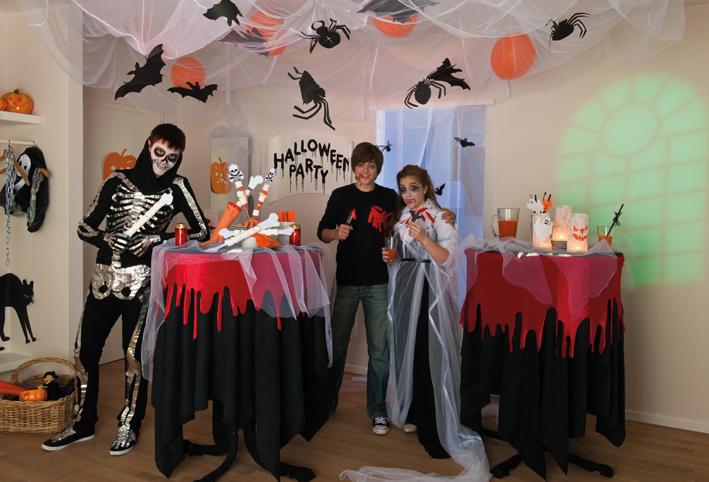 Ideen Fur Die Halloween Partydeko