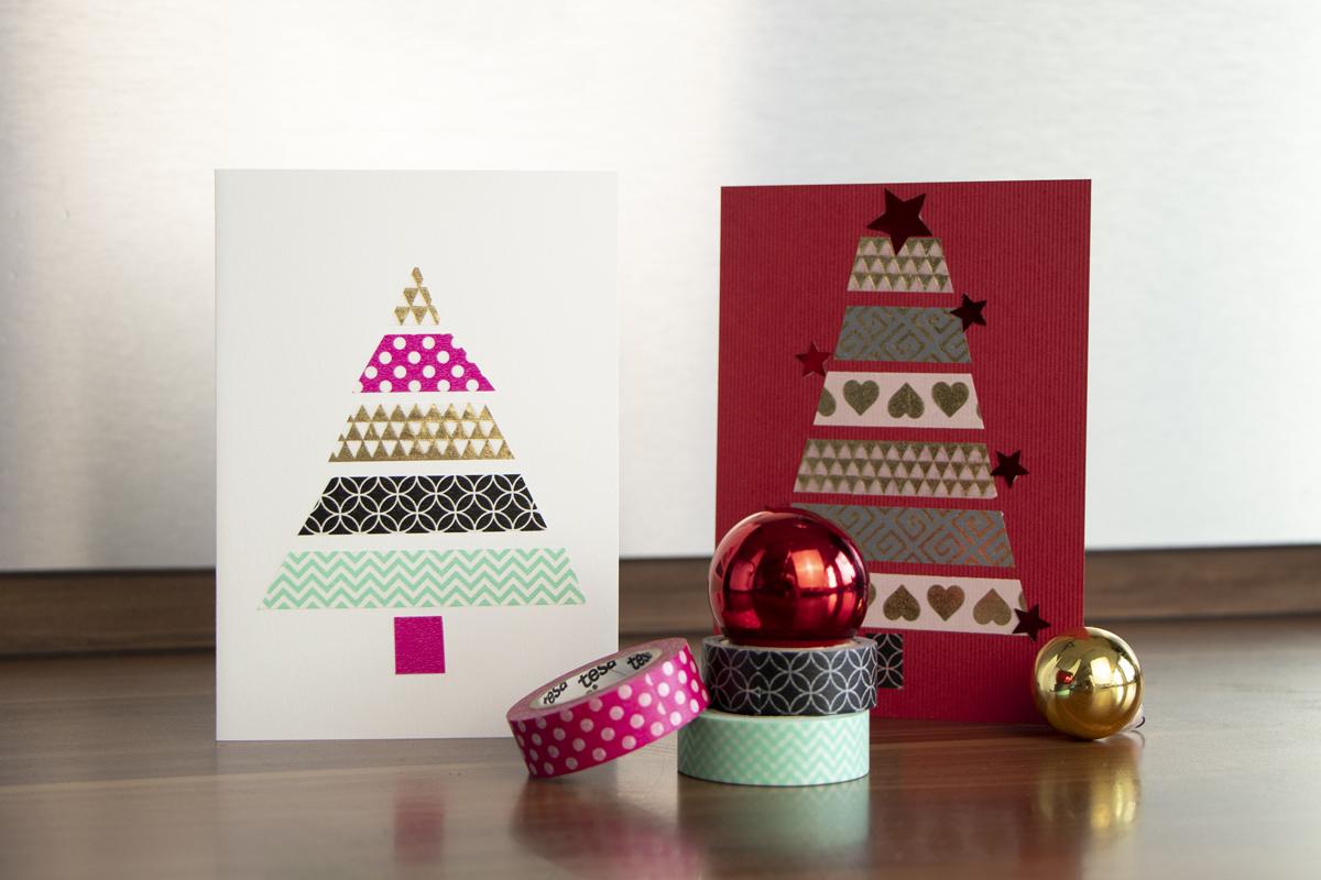 Weihnachtskarten Basteln Grundschule.Weihnachtskarten Basteln Diy Academy