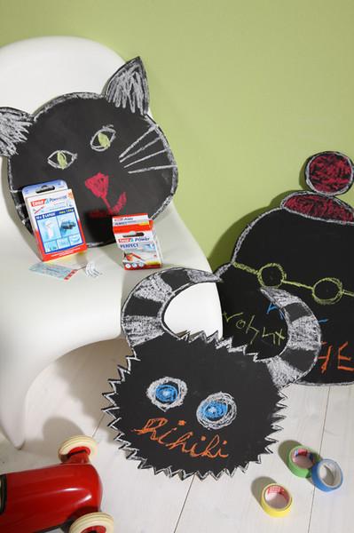 wanddekoration im kinderzimmer. Black Bedroom Furniture Sets. Home Design Ideas