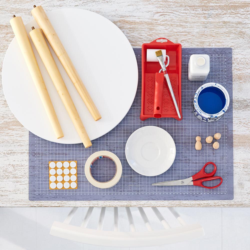 Tisch mit Muster | DIY Academy