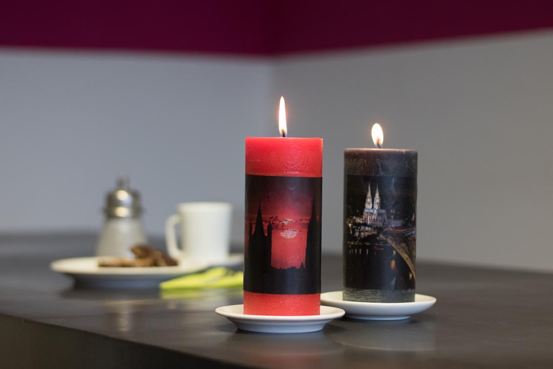 erinnerungen verschenken personalisierte foto kerze diy. Black Bedroom Furniture Sets. Home Design Ideas