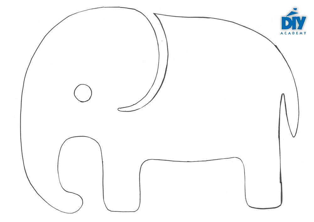33 elefanten schablone zum ausdrucken - besten bilder von