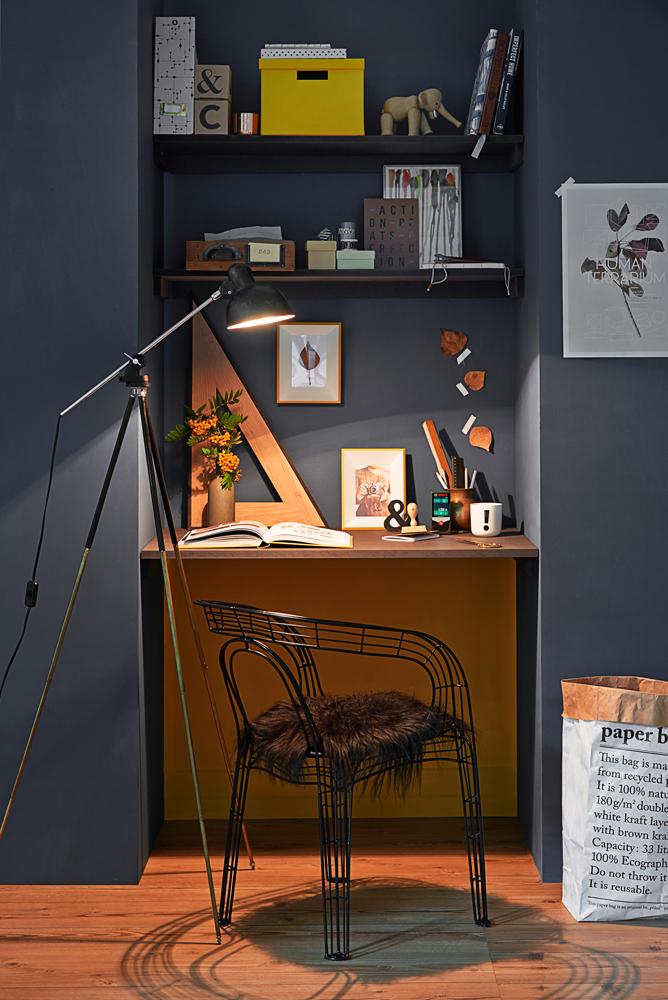 Schreibtisch Für Wenig Platz