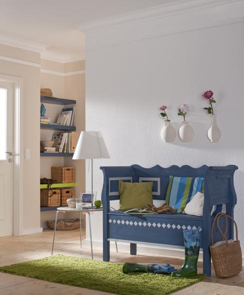 sitzbank aus holz lackieren. Black Bedroom Furniture Sets. Home Design Ideas
