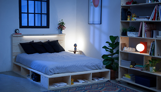 stauraum bett selber bauen. Black Bedroom Furniture Sets. Home Design Ideas