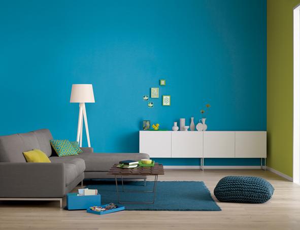 Ein Raum, sechs Farben