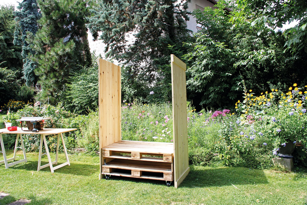 strandkorb selber bauen. Black Bedroom Furniture Sets. Home Design Ideas