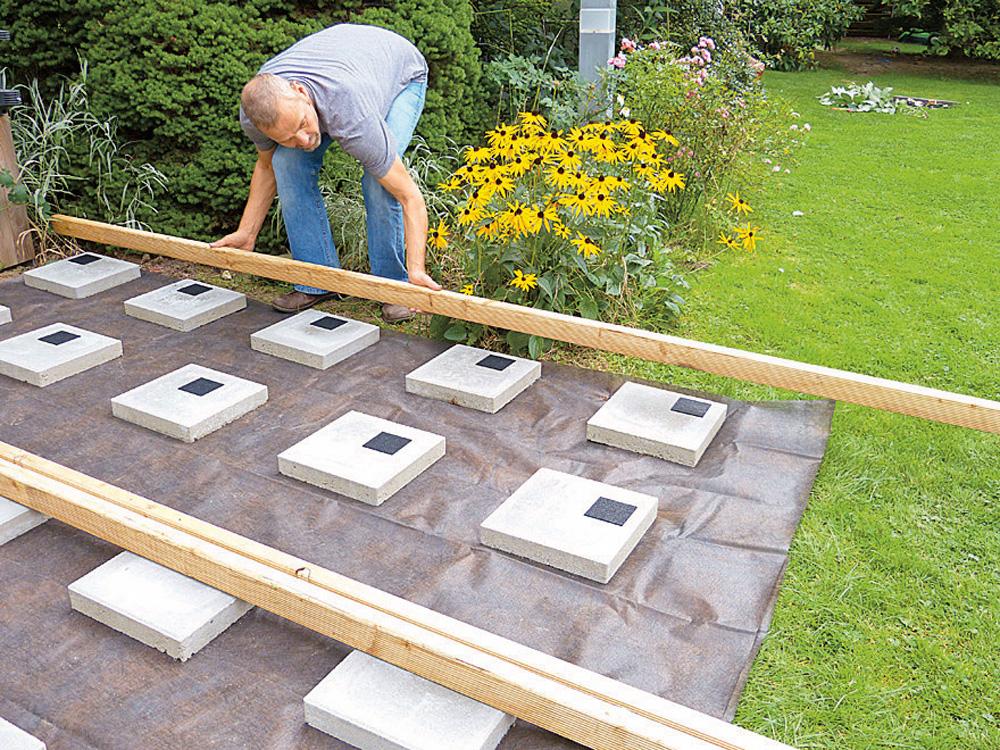 Holzdeck bauen   DIY Academy