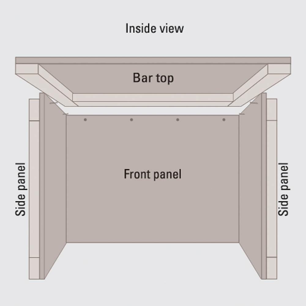 outdoork che selber bauen diy academy. Black Bedroom Furniture Sets. Home Design Ideas