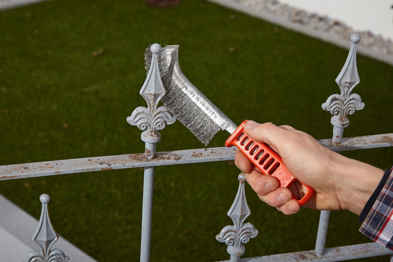 Sehr Zäune aus Metall vor Rost schützen | DIY Academy FD88